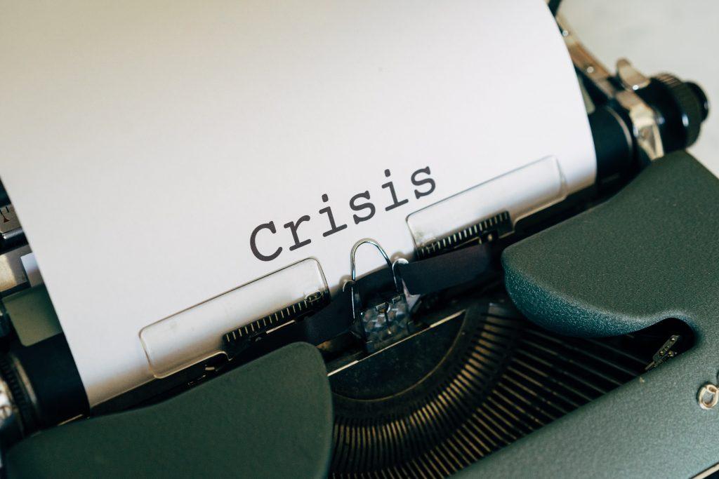 typewriter crisis