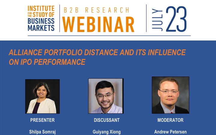 isbm b2b research webinar series