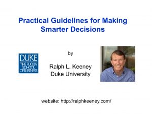 Image_02_JAM9.20_Practical Guidelines for Making Smarter Decisions_Keeney