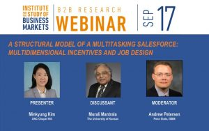 B2B Research Webinar September 17 2020