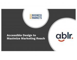 Image for ISBM and Ablr webinar